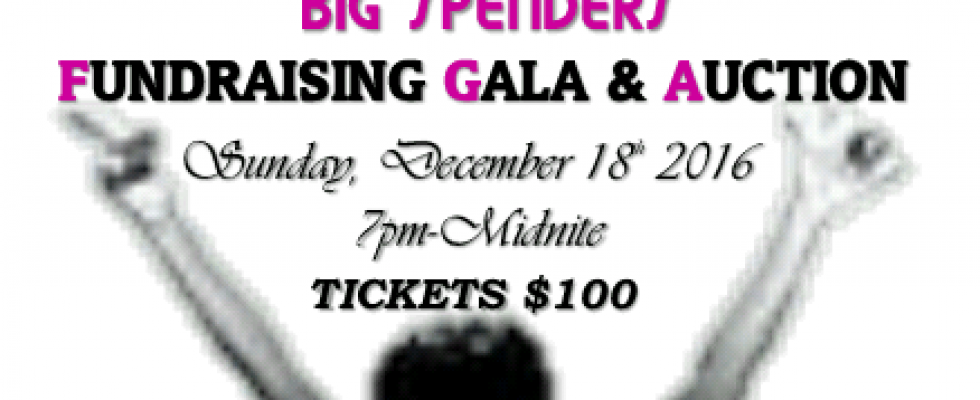 """""""Big Spenders"""" Fundraising Gala & Auction"""